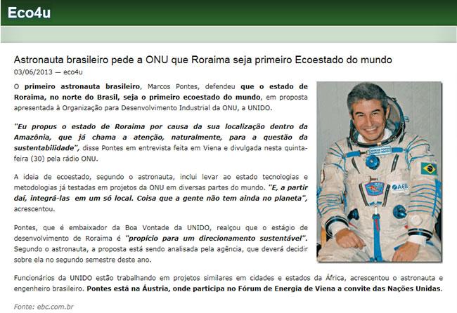 Marcos Pontes Entrevistas